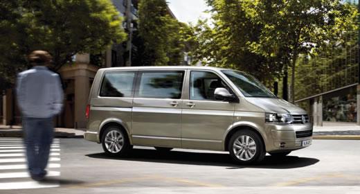 Multivan bérlés, Volkswagen Multivan mikrobusz bérlés