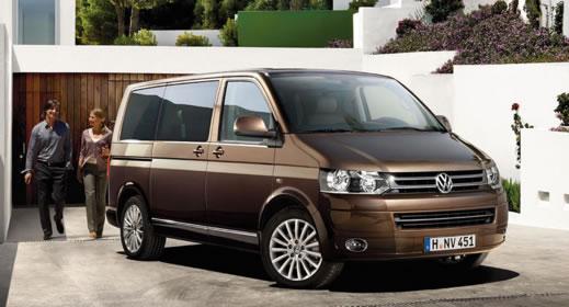 Multivan bérlés, Volkswagen Multivan kisbusz bérlés